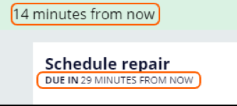 Verify that the repair is scheduled