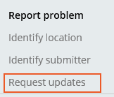 Select Request updates