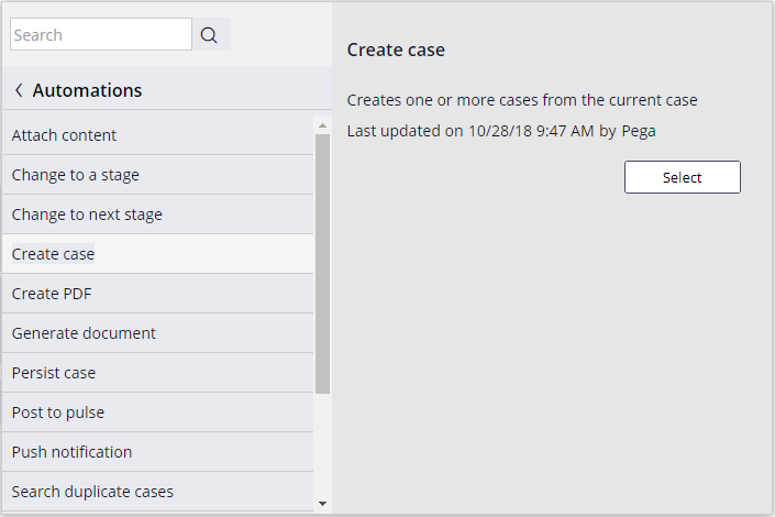 create-case-automation