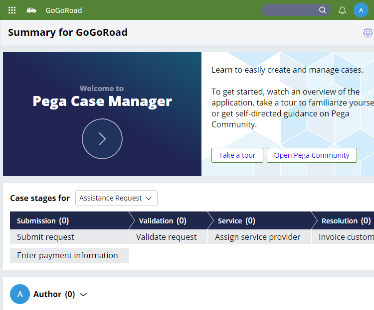 GoGoRoad application with updated theme and logo