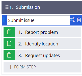 submit issue process