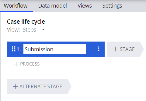 workflow submission stage