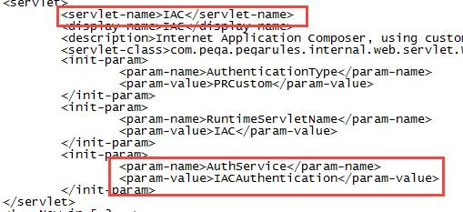 IAC Servlet