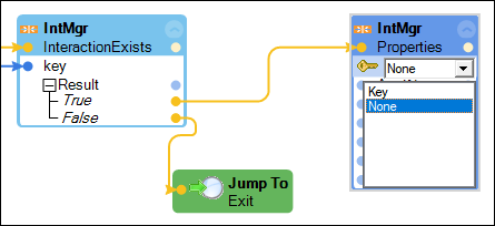 jump to exit