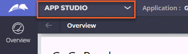 Picker control for choosing between studios