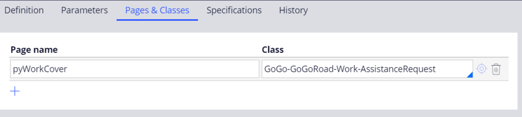 CopySelectedServices data transform Pages and Classes tab