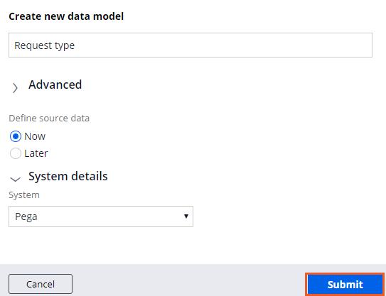 Create new data object