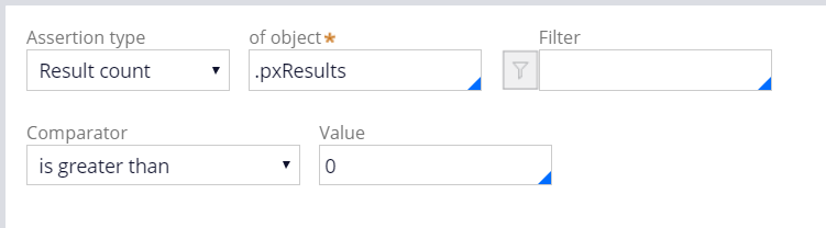 Screenshot of config for expected result 2