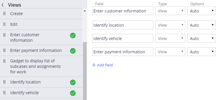 Configure the Review assistance request view