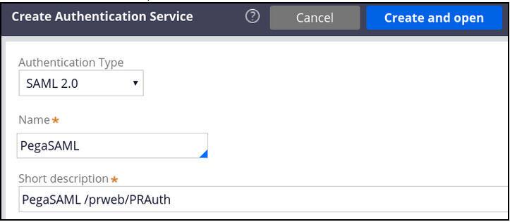 Create authentication service