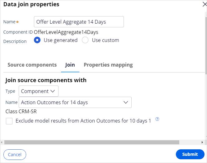 Data join properties