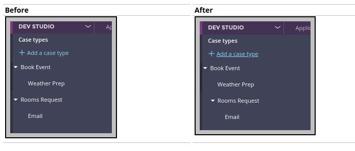 Book event case types