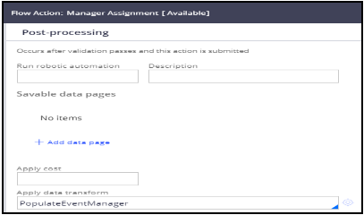 Manager assignment