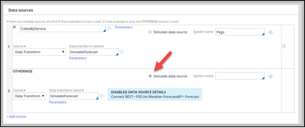 Simulate Forecast data transform