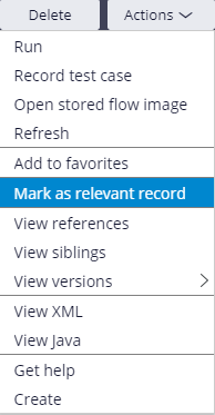 Image of Mark as Relevant selection