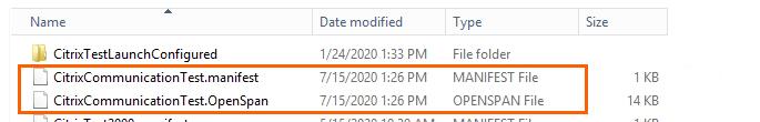solution files on citrix server