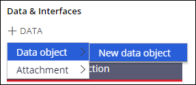 Add a new data object to the case life cycle