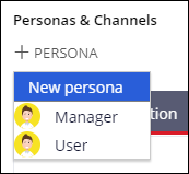 Add a new persona from the case life cycle
