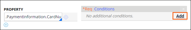 Add condition to an edit validate rule
