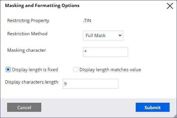 masking-formatting-options