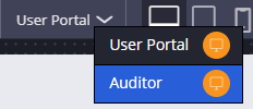 Switch to the Auditor portal