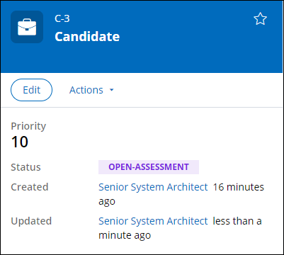 Status of Open-Assessment