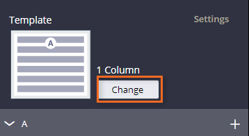 image shows change icon
