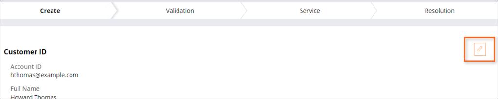 image shows the configure view button