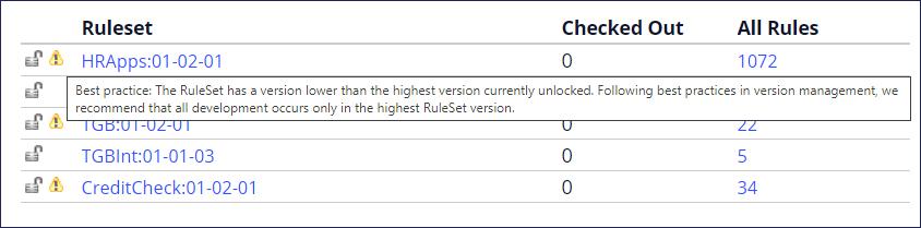 ruleset-lower-version-error