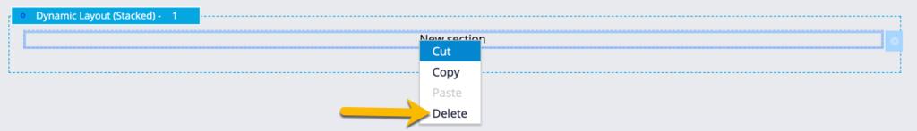 Delete the default text input