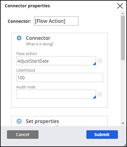 Connector properties