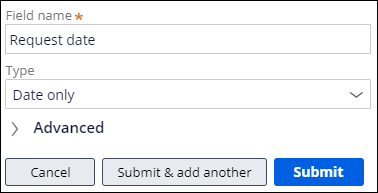 Adding a date only field to the Report problem view