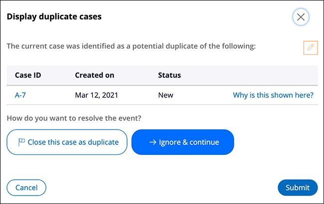 display-duplicate-cases