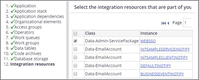Integration resources