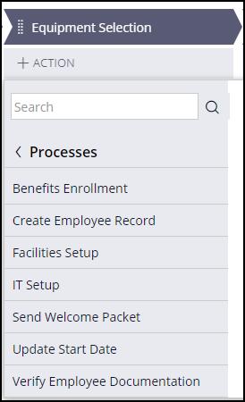 Update start date optional process