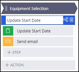 Update start date process