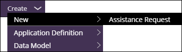 Create new assistance request