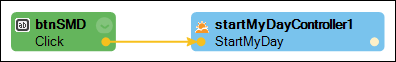 configuring start my day from button click